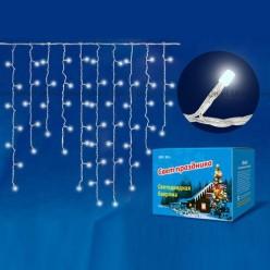 Бахрома светодиодная ULD-B3010-200/DTA BLUE IP20 (200 светодиодов, 3м, синий) 07950