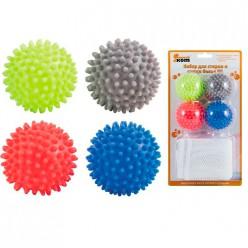 Набор для стирки и сушки белья WL: 4 шарика для стирки и сушки WB*4 и мешок для стирки WMB-002 арт.3