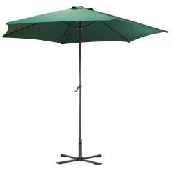 Зонт садовый GU-03 (зеленый) с крестообразным основанием арт.093011