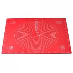 Коврик силиконовый 60*45 см для раскатки теста и выпечки (7786)