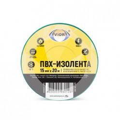 Изолента 15мм*20м зеленая AVIORA/200 305-062