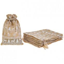 Комплект мешочков из 10 шт. 14*20 см 242-421