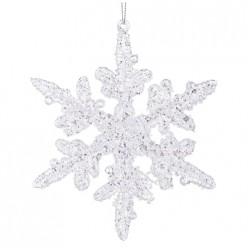 Изделие декоративное Снежинка длина=13см 788-098