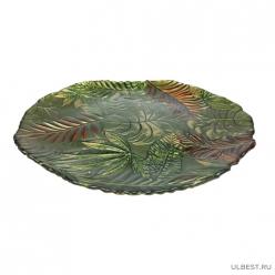 Тарелка большая сумерки в тропиках 32 см (6) арт.16630/4