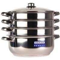 Мантоварка Arian Gastro d24см 3 секции ст/кр / 4KTCKK0524001 арт.1.402