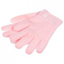 Перчатки увлажняющие велюровые с гелем в ассорт. (лаванда, алоэ вера) Банные штучки 40212