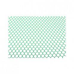 Сетка садовая (шестиуг.) (25мм) (шир.1,5м) (дл.10м) Зеленая (уп.1) М3956