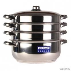 Arian Gastro Мантоварка d28см 3 секции мет/кр / 4KTCLK0728001 арт.2000.651