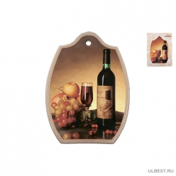 Подставка кухонная для горячего 18х24см, натюрморт YX051