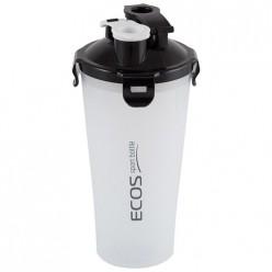 Двухсекционный спортивный шейкер ECOS HBS02, 1л арт.004741