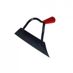 Тяпка самозаточная 200*55 мм (суперсталь) красная