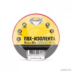 Изолента 15мм*20м красная AVIORA/200 305-057