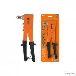 Заклепочник ручной ЗР-02, 2.4, 3.2, 4.0, 4.8 мм, Гранит TDM (SQ1037-0102)