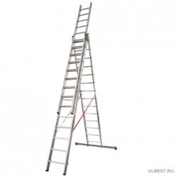 Лестница трехсекционная Новая высота 3 х 14 604314 г.С.Петербург