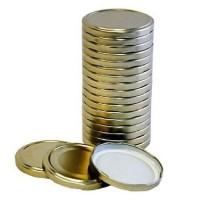 Крышки твист-офф лак 82 (20шт.)г.Иркутск - 3,32руб (Золотые)