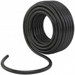 Шланг ПВХ на основе каучука 3-х слойный армир. (черный) 25м.диам.18