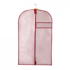 Чехол для одежды ХРИЗАНТЕМА, д1300 ш600, розовый, бордовый арт.UC-79-1