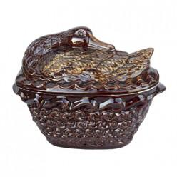 Супница Лебедь арт.2496 (керамика)