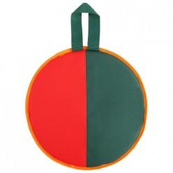 Ледянка d-330мм h=10мм, цвет зелёный/красный арт.3868092 г.Екатеринбург