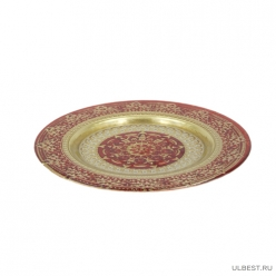 Тарелка маленькая жасмин красный 21 cm (кор.8шт) 16296/2