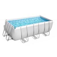 Каркасный бассейн Power Steel с песч. фильтром и лестн. 412*201*122 см, 8124 л, Bestway 56457 арт.00