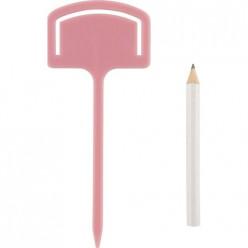 Таблички садовые с карандашом (набор 10шт) арт.008644