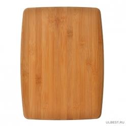 VETTA Гринвуд Доска разделочная бамбук 38х28х1,0см H-1555 (851-135)