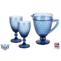 Набор для напитков 1/7 1100мл./324мл., Гвент синий GB2612D125DZS