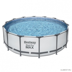 Бассейн с набором 427*122 см Steel Pro Max Bestway 5612X арт.008920