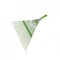 0231-10 Грабли веерные без черенка, салатового цвета, с компенсатором ЦИ