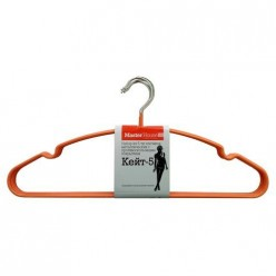Набор металлических плечиков Кейт-5 (5 шт) с противоскольз. покрытием (60288) Мастер Хаус