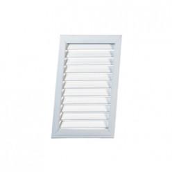 Решетка радиаторная белая 0.6*0.3 (Вертикальная)