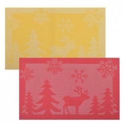 Салфетка Рождественский олень. Размер 30х45см. VL2-115