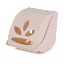 Держатель для туалетной бумаги Фантазия (бежевый) (уп.12) М8340