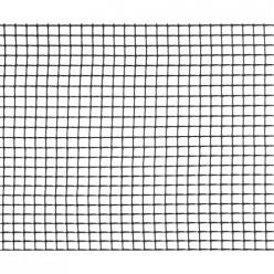 Сетка садовая 15х15мм (шир.1м,дл.10м)(черный) (уп.1) М7364
