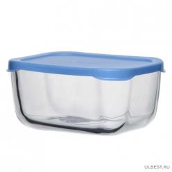 Контейнер SNOW BOX с голубой пластиковой крышкой 400 мл арт.53733SLBL