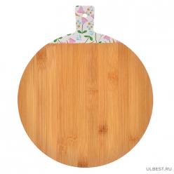 VETTA Гринвуд Доска разделочная бамбук с принтом, 30х25х1,0см (851,181)