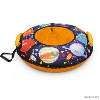 Тюбинг Игрушка с круговым дизайном ТБ3К-85/ПЛ2 с планетами