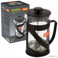 Чайник/кофейник (кофе-пресс) PERSONA, объем 600 мл, из жаропроч. стекл. арт 006973