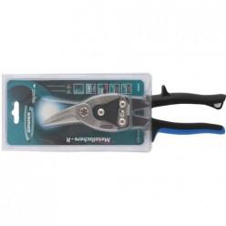 Ножницы по металлу PIRANHA, 250мм,прямой и правый рез.,сталь-CrMo,двухкомп. ручки GROSS арт.78323