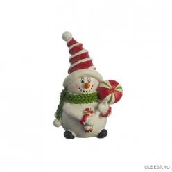 Фигурка Снеговик 5*4*7 см.без упаковки (мал-16/кор=256шт.) 156-384