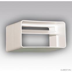 Соединитель с обратным клапаном пластик 60х204 620СКПО