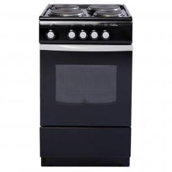 Электрическая плита De Luxe 5004.12э чёрный