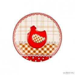 Блюдо диам. 20см. 493-537