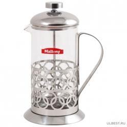 Чайник/кофейник (кофе-пресс) Олимпия (Оlimpia) Т046-600ML (сталь) (аналог 950091) 950137