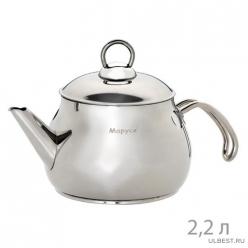 "Чайник 2,2л, стекл. кр. (13/22с) ""МАРУСЯ"""