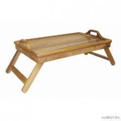 Столик для завтрака 34х55, темное дерево арт.9/855