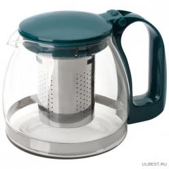 Чайник заварочный Decotto-AS-750 с пластик ручкой, фильтр из нерж ст, 0,75 л, Mallony арт.910111