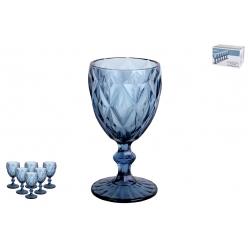 Набор бокалов 1/6 240мл Тебриз синий
