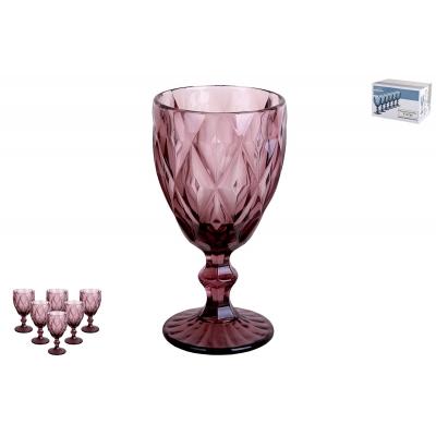 Набор бокалов 1/6 350мл Тебриз фиолетовый GB2604D1511LJ фото